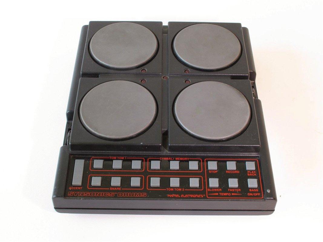 Mattel Synsonics drums, anlog