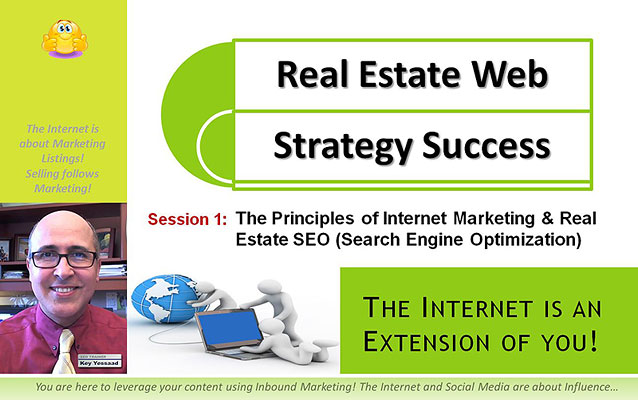 The Principles of Internet Marketing and Real Estate SEO - Main Slide
